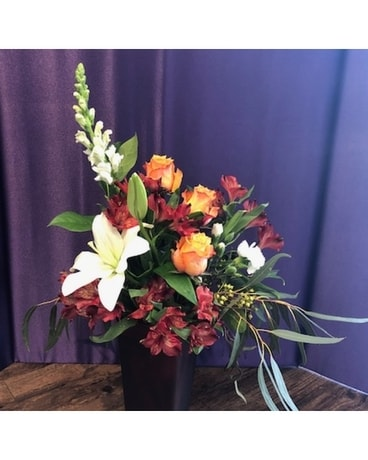 Surprise Flame Flower Arrangement