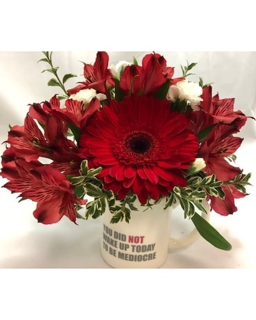 Wake Up Motivation Flower Arrangement