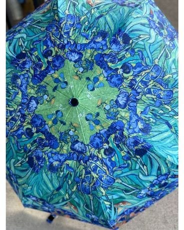Van Gogh Irises Reverse Umbrella Gifts