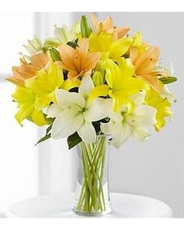 Asiatic Lily Bouquet Flower Arrangement