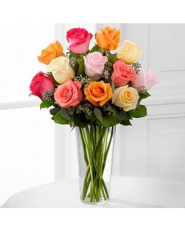 The Graceful Grandeur™ Rose Bouquet Flower Arrangement