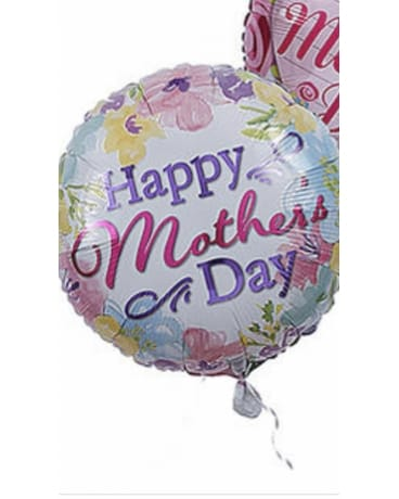 Happy Mother's Day Mylar Flower Arrangement