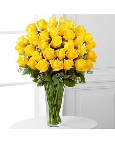 The Yellow Rose Bouquet 36 Stems In Hillsboro Or Hill Florist Gifts
