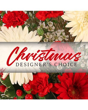 Low & Lush Designer's Choice Flower Arrangement