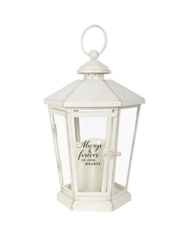 Lantern - Hexagon Cream 2 Always and Forever Gifts
