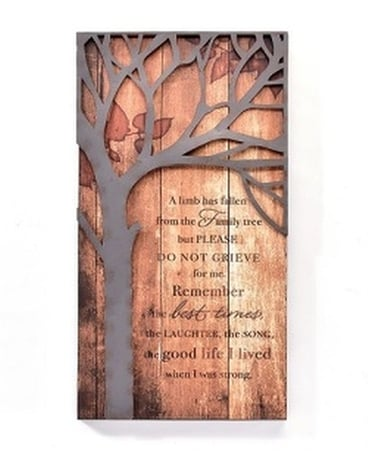 Picture - Remember Family Tree Gifts
