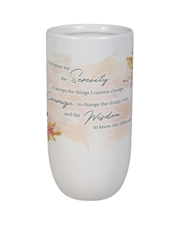 Vase - 2 Serenity Prayer Gifts