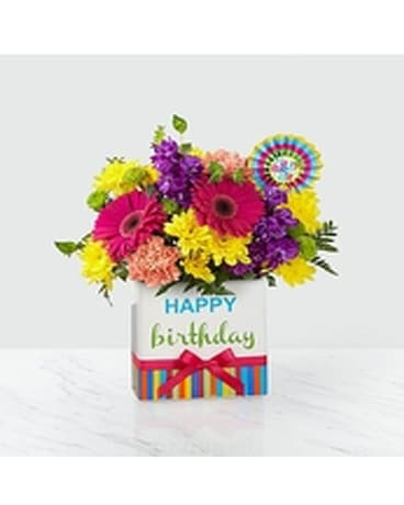 FTD Birthday Brights Bouquet Flower Arrangement
