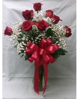 LF - Our Gorgeous Red Roses Flower Arrangement