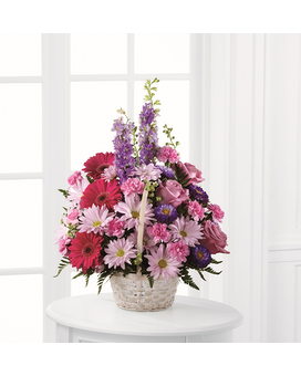 FTD Pastel Peace Basket Flower Arrangement