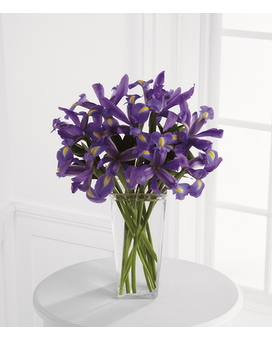 FTD Iris Riches Bouquet Flower Arrangement