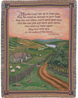 Throw  - Blessings of Ireland Gifts