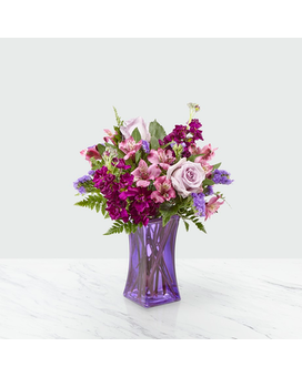 FTD Purple Presence Bouquet Flower Arrangement