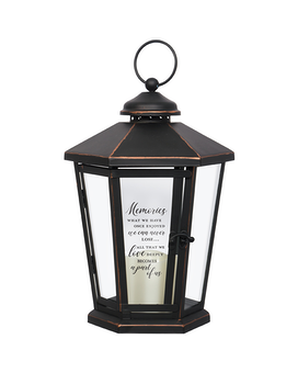 Lantern - Hexagon Black 3 Memories Gifts