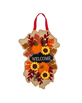 Door Decor - Fall Floral Welcome Gifts
