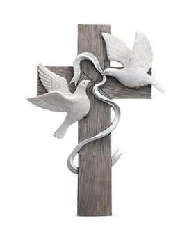 Cross with 2 doves Gifts