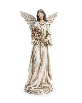 Angel holding roses - 8 Gifts