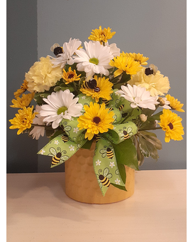 Loeffler's Bee My Honey Bouquet Flower Arrangement