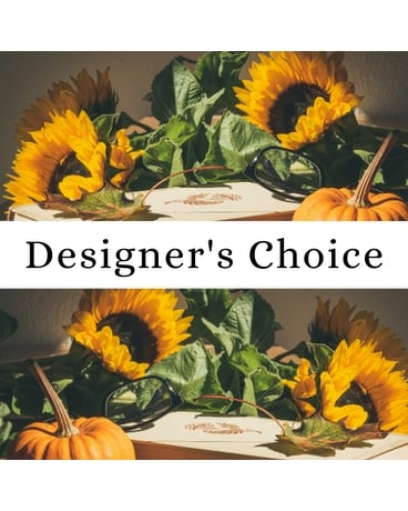 Designer's Choice Fresh Thanksgiving Centerpiece