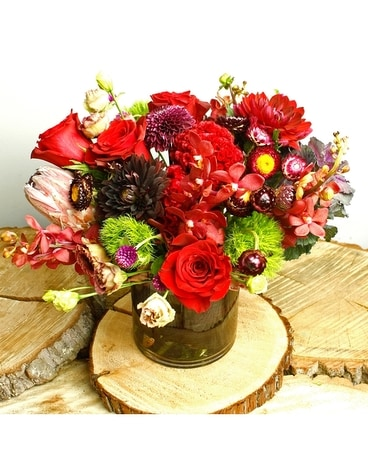 Fall Love Flower Arrangement