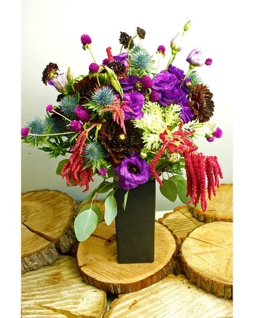 Harvest Moon Flower Arrangement