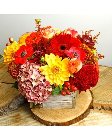 Hayride Flower Arrangement