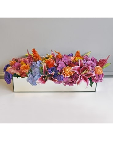 Vibrant Harvest Flower Arrangement