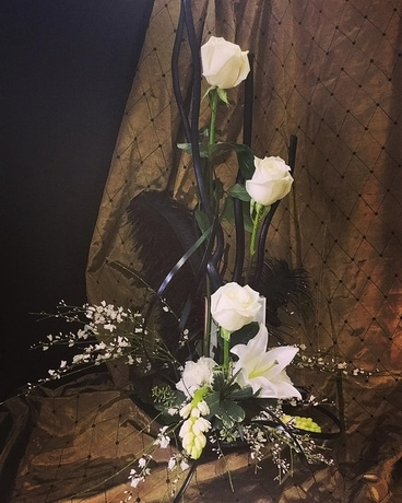 Black And White Elegance In Allentown Pa Phoebe Floral Shop