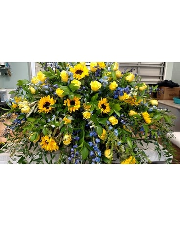 Sunflower Field Flower Arrangement