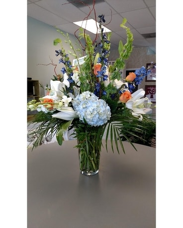 Beach Blooms Flower Arrangement