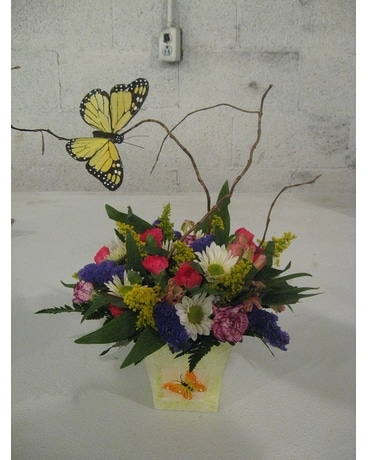 Butterfly thoughts... Flower Arrangement