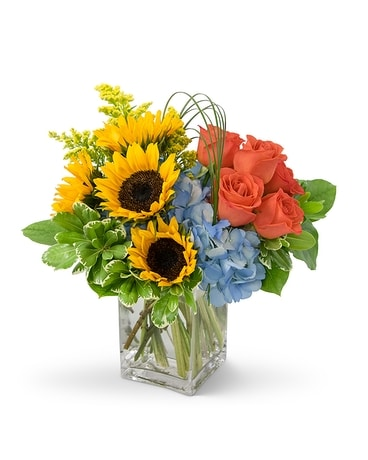 Love In The Sun Flower Arrangement