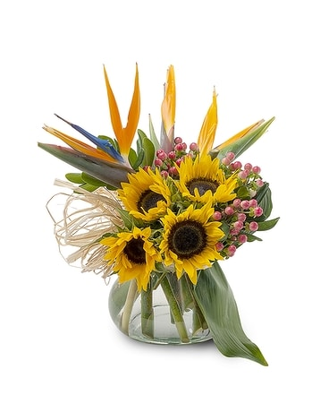 Tropical Tenderness Flower Arrangement