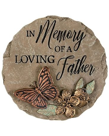Keynote Father Mini Garden Stone Gifts