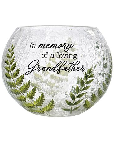 Grandfather Crackled Glass Gifts