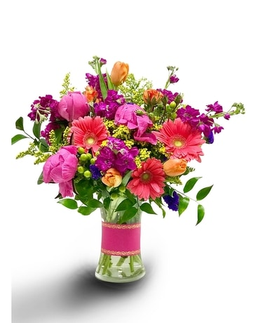 Springtime Dazzler Flower Arrangement