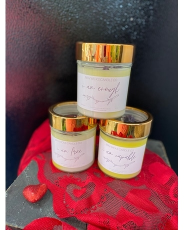 Creamy Vanilla Candle Gifts
