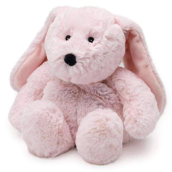 Pink Bunny Warmies -Soothes, Warms and Comforts; Scented with Real French Lavender
