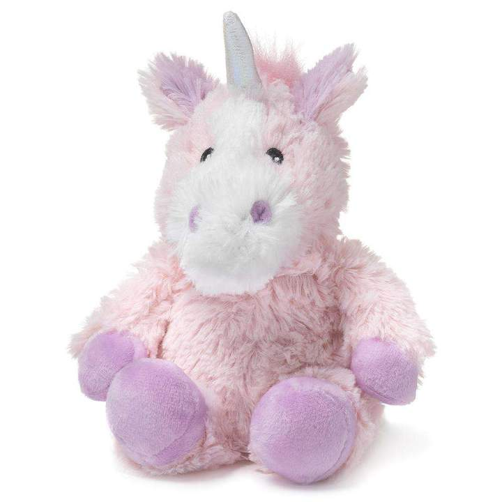 Pink Unicorn Warmies -Soothes, Warms and Comforts; Scented with Real French Lavender