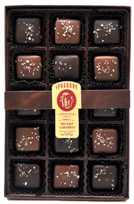 Large Boxed Sea Salt Caramels