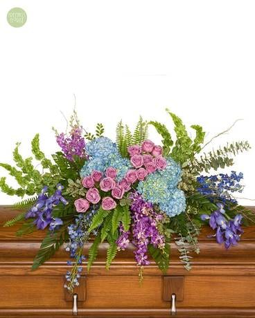 Soothing Treasure [6GRP1] Flower Arrangement