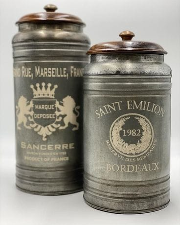 French MTL Canisters S/2 12