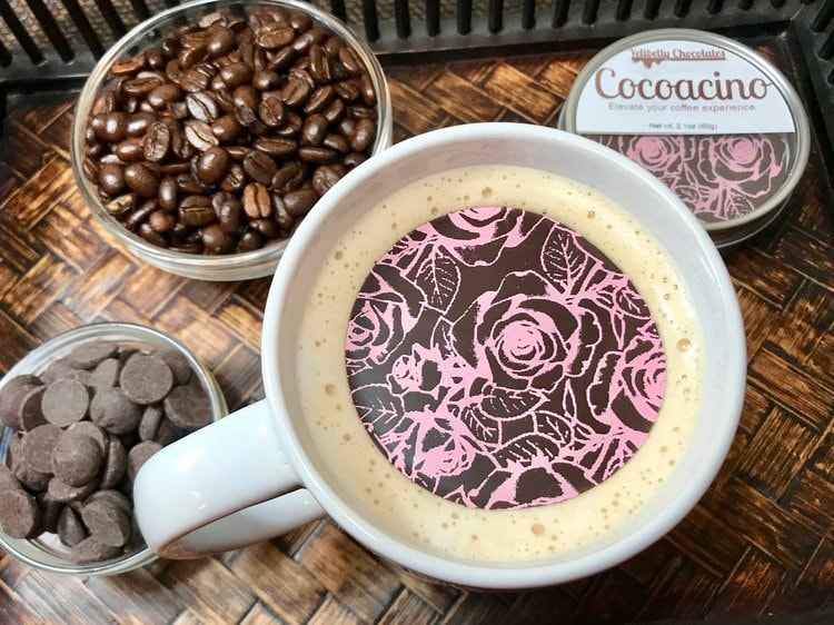 Yelibelly Cocoacino (Hot Beverage Topper Melts)