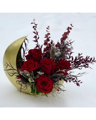 The Love You To the Moon Bouquet Flower Arrangement