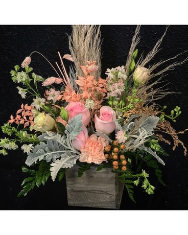 The Blushing Boho Bouquet Flower Arrangement