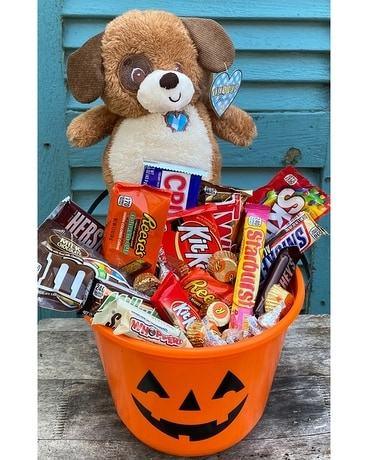 Tender Freddie Halloween Candy Bucket Custom product
