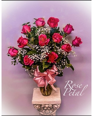 Pink Rose Bouquet Flower Arrangement