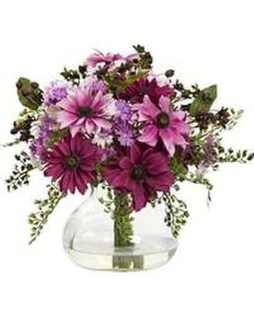 Natural Daisy Flower Arrangement