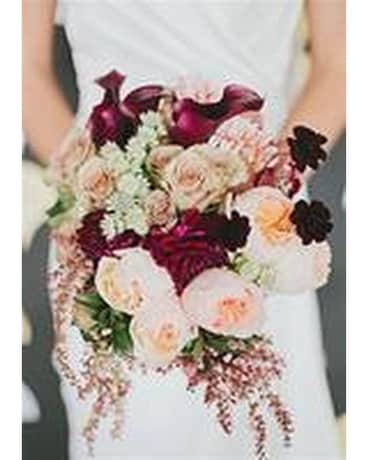 Beautiful Bride Bouquet Flower Arrangement