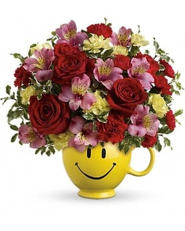 So Happy You're Mine Bouquet by Teleflora Flower Arrangement